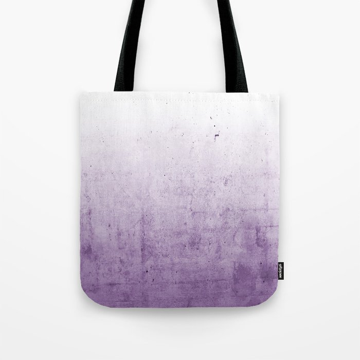 Radiant Orchid Purple Ombre  Tote Bag