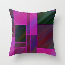 segmented (three) Throw Pillow