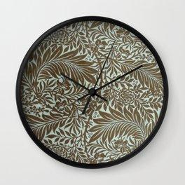 "William Morris ""Larkspur"" 4. Wall Clock"