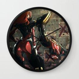 Gun Goddess Miss Fortune Promo Teaser Wallpaper Background Official Art Artwork League of Legends Wall Clock