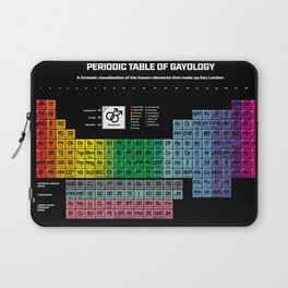 Periodic Table of Gayology Laptop Sleeve