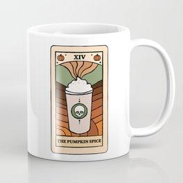 The Pumpkin Spice Tarot Card Coffee Mug