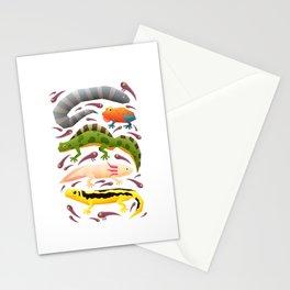 Amphibians Stationery Cards