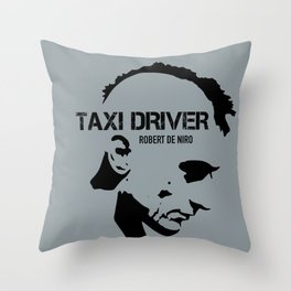 Taxi Driver - Alternative Movie Poster Throw Pillow
