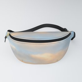 Clouds Light Fanny Pack