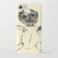 teddy bear iPhone & iPod Cases featuring Teddy bear by Attila Hegedus