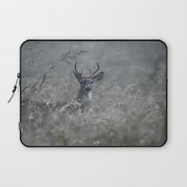 Foggy Morning Buck Laptop Sleeve