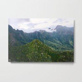 Iao Valley, Maui Metal Print