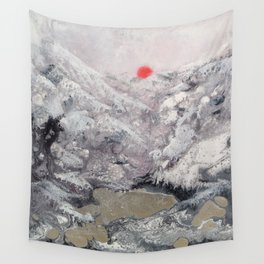 Alpine Moon Wall Tapestry