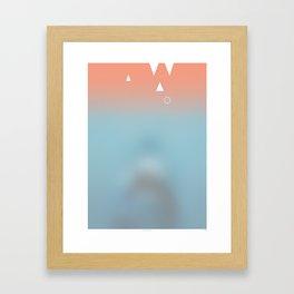 Amity Island (Jaws) Framed Art Print