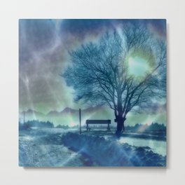 Amazing Winter Impression Metal Print