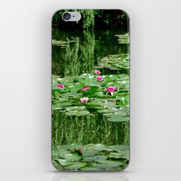 Monet's Lilies iPhone Skin