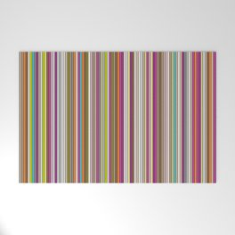 Stripes & stripes Welcome Mat