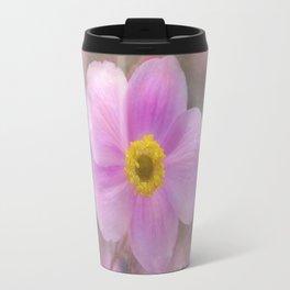 Pink Anemone Travel Mug