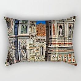 Renaissance Architecture in Florence Rectangular Pillow