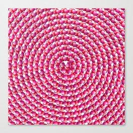 Heart Swirl Canvas Print