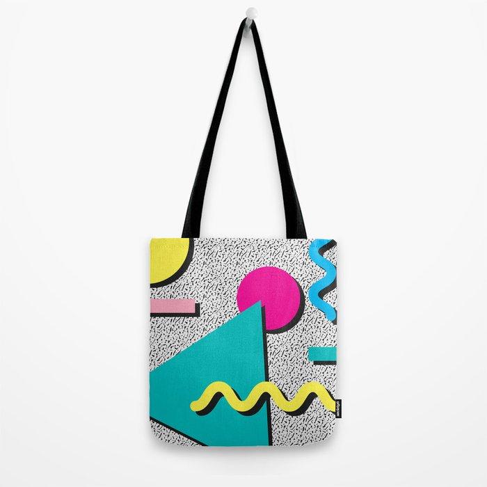 Abstract 1980's Tote Bag