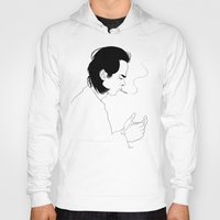 nick cave Hoodies featuring Nick by AnaMF