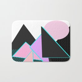 Hello Mountains - Moonlit Adventures Bath Mat