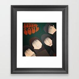 Rubber Soul Framed Art Print