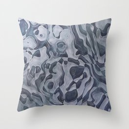 Abstract Composition 359 Throw Pillow