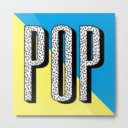 POP Metal Print