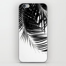 Palm Leaves Black & White Vibes #1 #tropical #decor #art #society6 iPhone Skin