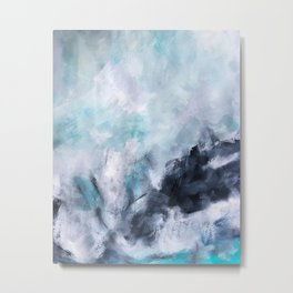Wave Form Metal Print