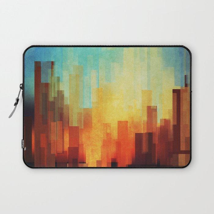 Urban sunset Laptop Sleeve