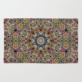 Persian kaleidoscopic Mosaic G506 Rug