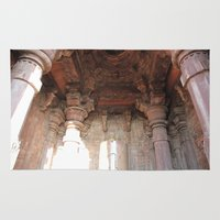 shiva Area & Throw Rugs featuring Bhojpur Shiva Temple by Four Hands Art