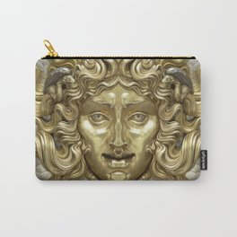 """""""Ancient Golden and Silver Medusa Myth"""" Carry-All Pouch"""