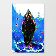 libra... Canvas Print