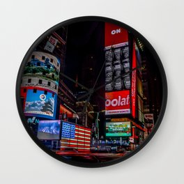 City that Never Sleeps-NYC Wall Clock