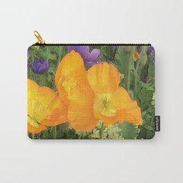 Botanical Florals zencolor3 Carry-All Pouch