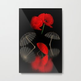 umbrella time -12- Metal Print