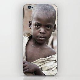 African Boy iPhone Skin