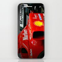 f1 iPhone & iPod Skins featuring Ferrari F1 by cjsphotos
