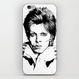 David Bowie iPhone Skin