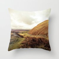 ruben ireland Throw Pillows featuring Ireland. by Ashley Jensen