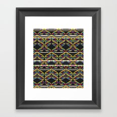 Pattern DNA Framed Art Print
