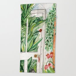 The Jungle Room Beach Towel