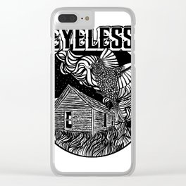 """""""EYELESS PLACE SCAPE"""" Clear iPhone Case"""
