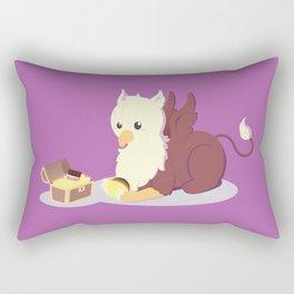 Kawaii fantasy animals - Griffin Rectangular Pillow