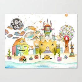 Minotaureland 2 Canvas Print