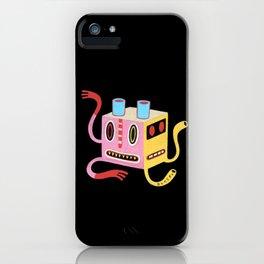 Petit monstre cube  iPhone Case