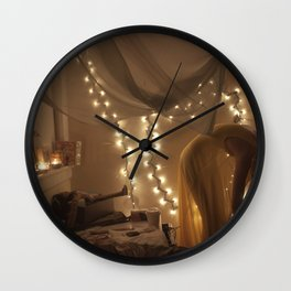 my bedroom is filled with love Wall Clock