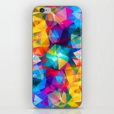 XV Triangles iPhone Skin