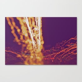 City (Light)s (Graffiti) 4 Canvas Print