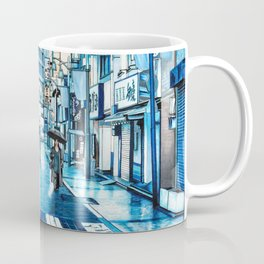 Rainy Day in Tokyo Coffee Mug
